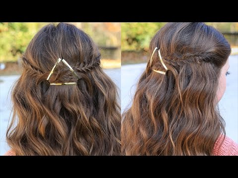 How to Create a Barrette Tieback | Hair Tutorials | Cute Girls Hairstyles