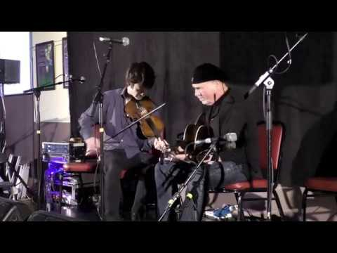 Dennis Cahill and Ryan Young at Feakle Festival 2017