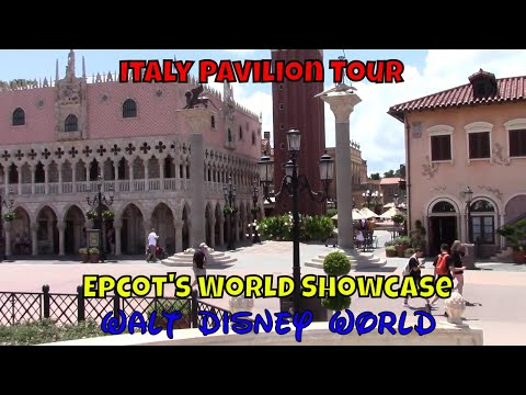 Epcot's World Showcase Italy Pavilion Tour
