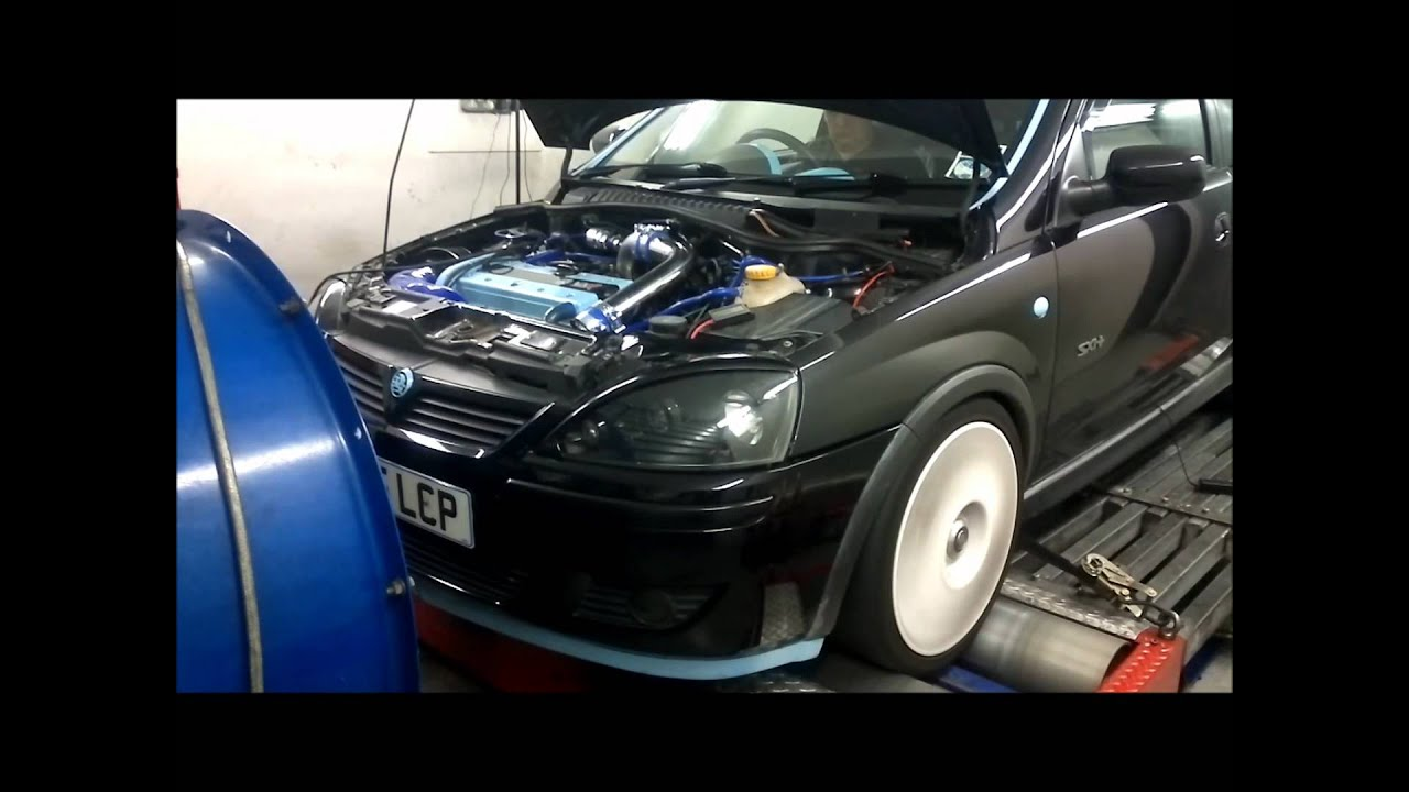 vauxhall corsa  turbo zlet rs tuning remap