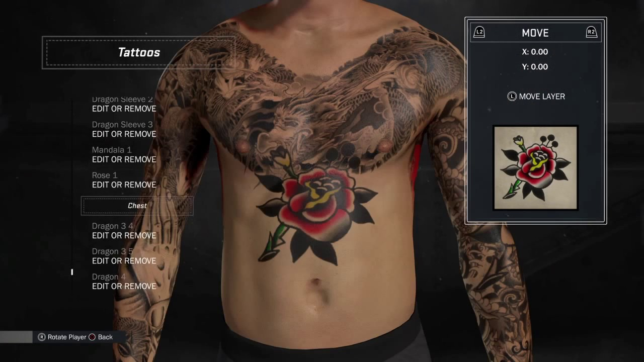 Best chest tattoo on NBA 2k17 - YouTube