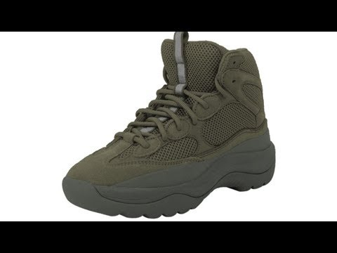6ebe54ab1d367 YEEZY Desert Rat Boot  Blue Steel     Forest  - YouTube