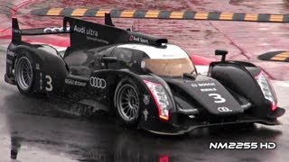 Audi LMP1 Sports Car 2012 Videos