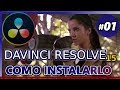 COMO INSTALAR DAVINCI RESOLVE 15 (Tutorial 01: editar videos gratis para youtube, principiantes)