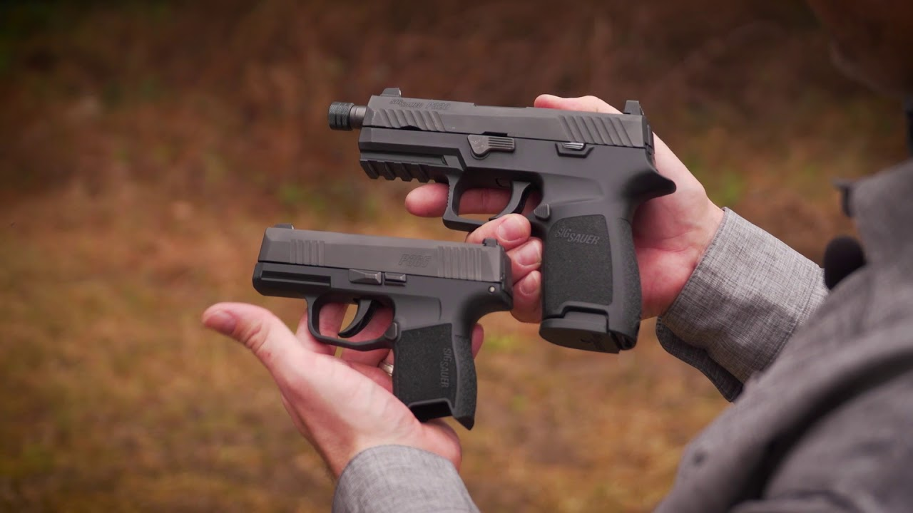 SIG P365 / P320 Comparison| Gun Talk First Look