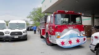 Free Food Drive Through - Mayor Lori Lightfoot - CHICAGO 2020