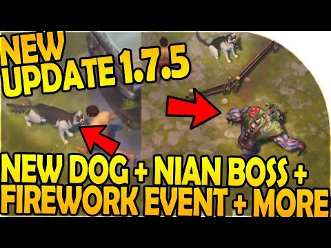 NEW UPDATE 1.7.5 -NEW DOG + NEW NIAN BOSS + FIREWORK EVENT - Last Day On Earth Survival 1.7.5 Update