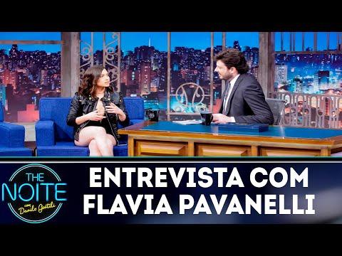 Entrevista com Flavia Pavanelli  The Noite 161118