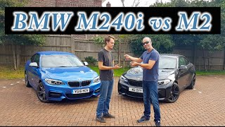 BMW M240i vs M2 Review (M140i 2017)