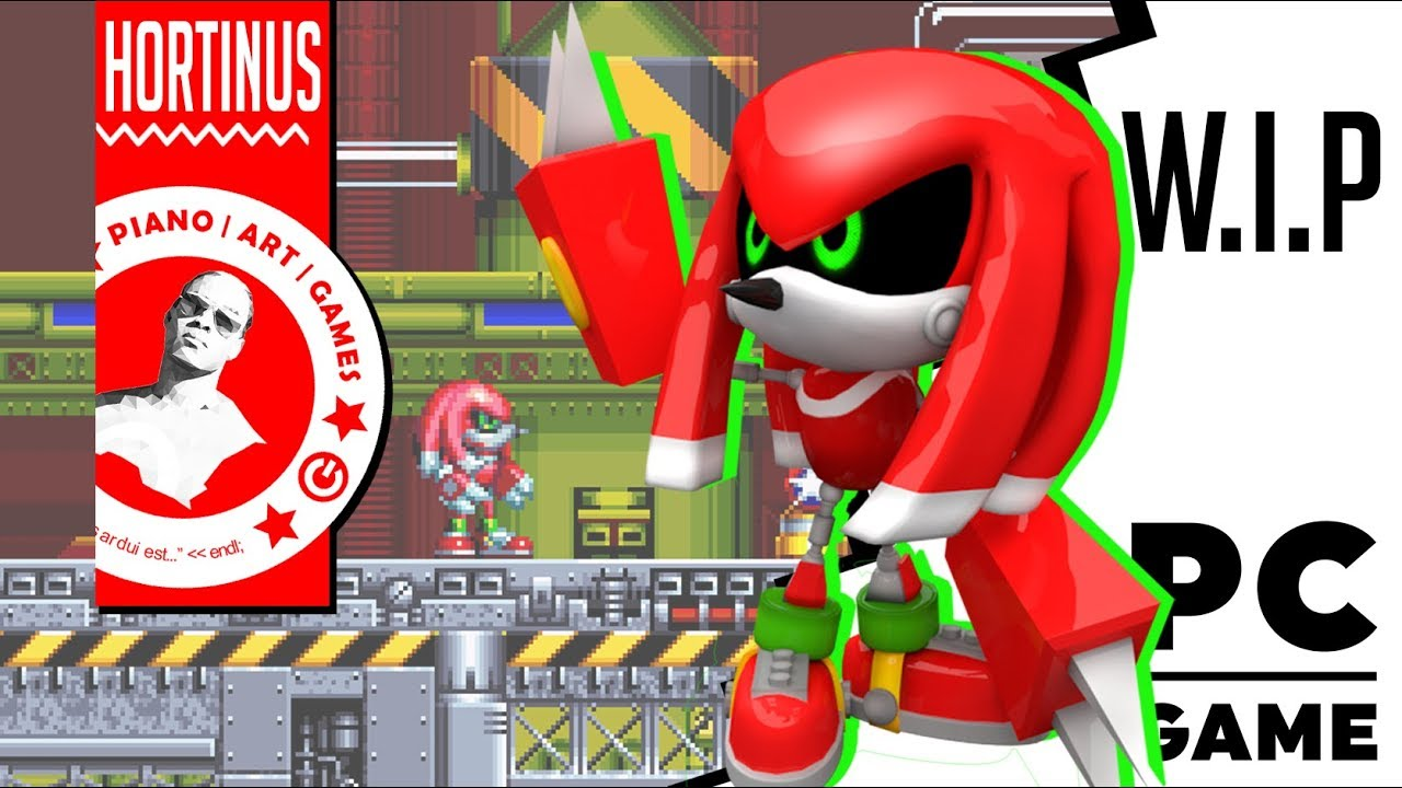Metal Knuckles Wip Sonic Mania 1080p 60fps Youtube