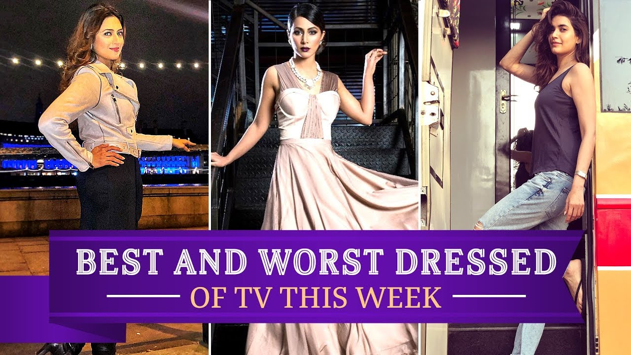 1c129f924 Hina Khan, Divyanka Tripathi, Karishma Tanna : TV's Best and Worst Dressed  of the week | Pinkvilla