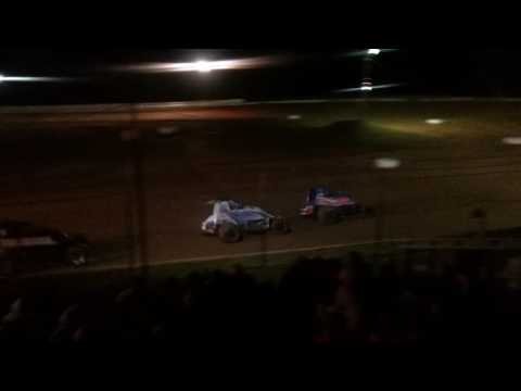 Sprint Car Feature Part 2/3  Chandler Motor Speedway