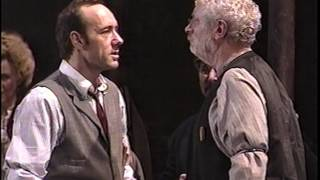 Hickey (Kevin Spacey)'s first scene, from the 1999 Broadway revival...
