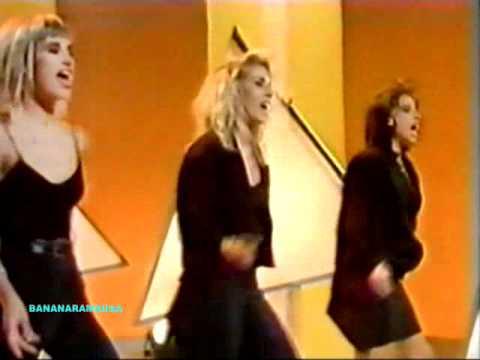 Bananarama - More Than Physical live on Wogan, 1986