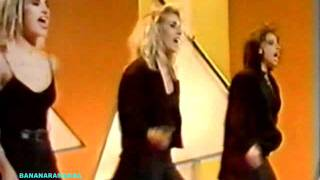 Bananarama - More Than Physical live on Wogan, 1986