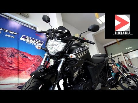 FZS Fi V2.0 BS4 2017 Matte Black Walkaround Review #Bikes@Dinos