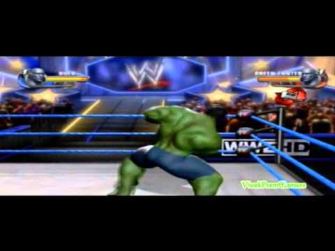 WWE All Stars Hulk vs Green Lantern Formula Inside + Gameplay
