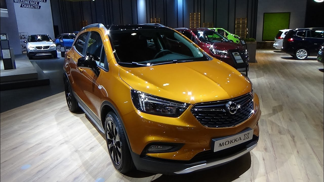 2018 opel mokka x 1 4 turbo black edition exterior and. Black Bedroom Furniture Sets. Home Design Ideas