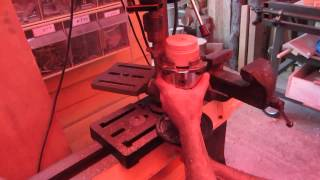 הברגות בעץ 254-13 013.using My Wood Thread Cutting Jig