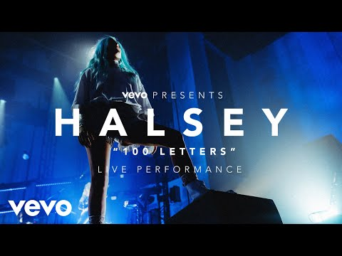 halsey-100-letters-vevo-presents