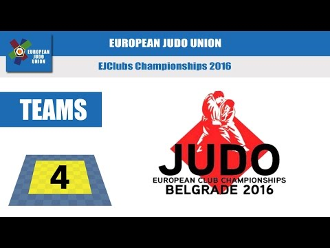 EUROPEAN CLUB CHAMPIONSHIPS - Tatami 4