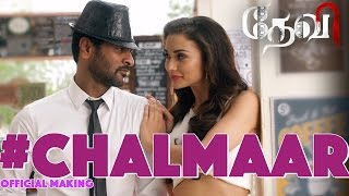 Chalmaar Devi  Official Making Video  Prabhu Deva, Tamannaah, Amy Jackson  Sajid-wajid  Vijay