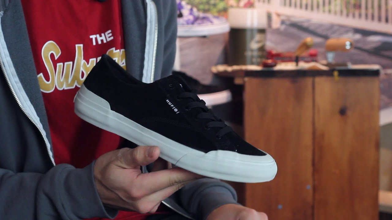 HUF Classic Lo Skate Shoes Review Tactics