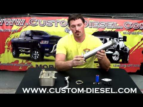 Ford 6.0 EGR Delete and Oil Cooler Overview