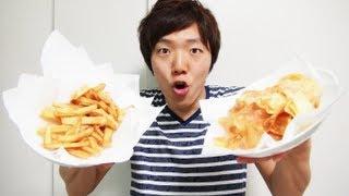ポテトチップスとフライドポテト作ってみた! thumbnail