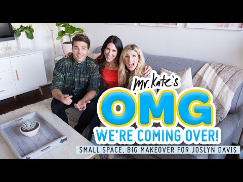 Interior Design Challenge: Studio Apartment for Joslyn Davis | OMG We're Coming Over | Mr Kate