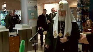 Патриарх Кирилл принял участие в выборах Президента России