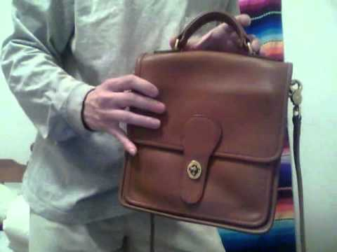 Classic Coach Station Bag Style 5130