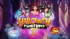 Halloween Fortune II Online Slot from Playtech - Free Games Feature!