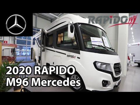 RAPIDO M96 Mercedes 2020 Motorhome 7,54