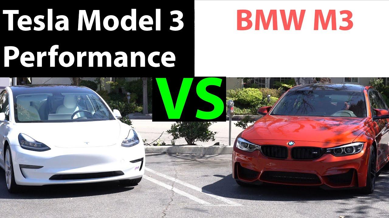 Tesla Model 3 Vs Bmw M3 - Optimum BMW