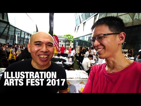 Illustration Arts Fest 2017 at Lasalle