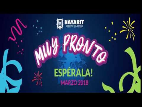 Cartelera de la Feria Nayarit Mexico 2018