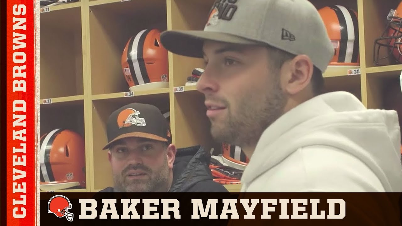 1c774615242 Baker Mayfield chooses his jersey number | Cleveland Browns - YouTube