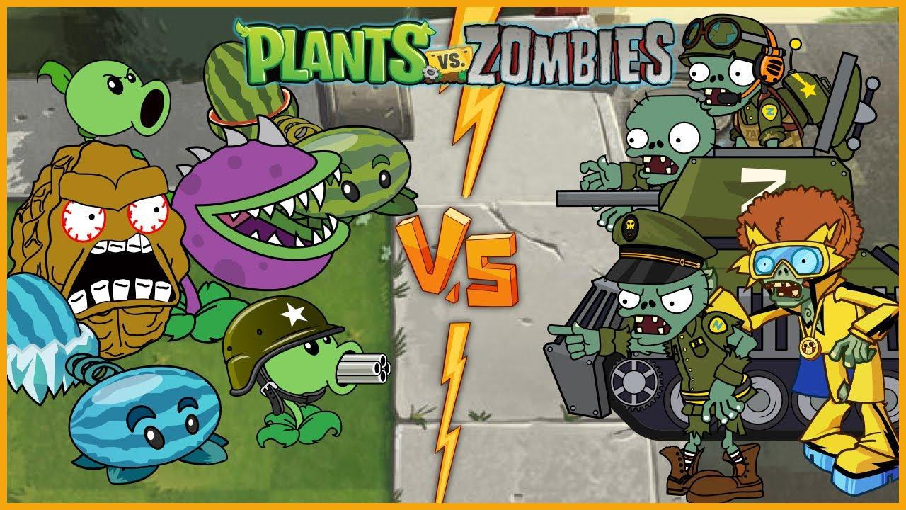 New Plants Vs Zombies Best PVZ Animation - Episode 9 - Primal Cartoon Anime Video PVZ