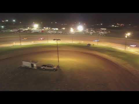 Enid speedway late models feature 2nd half 7-7-18. - dirt track racing video image