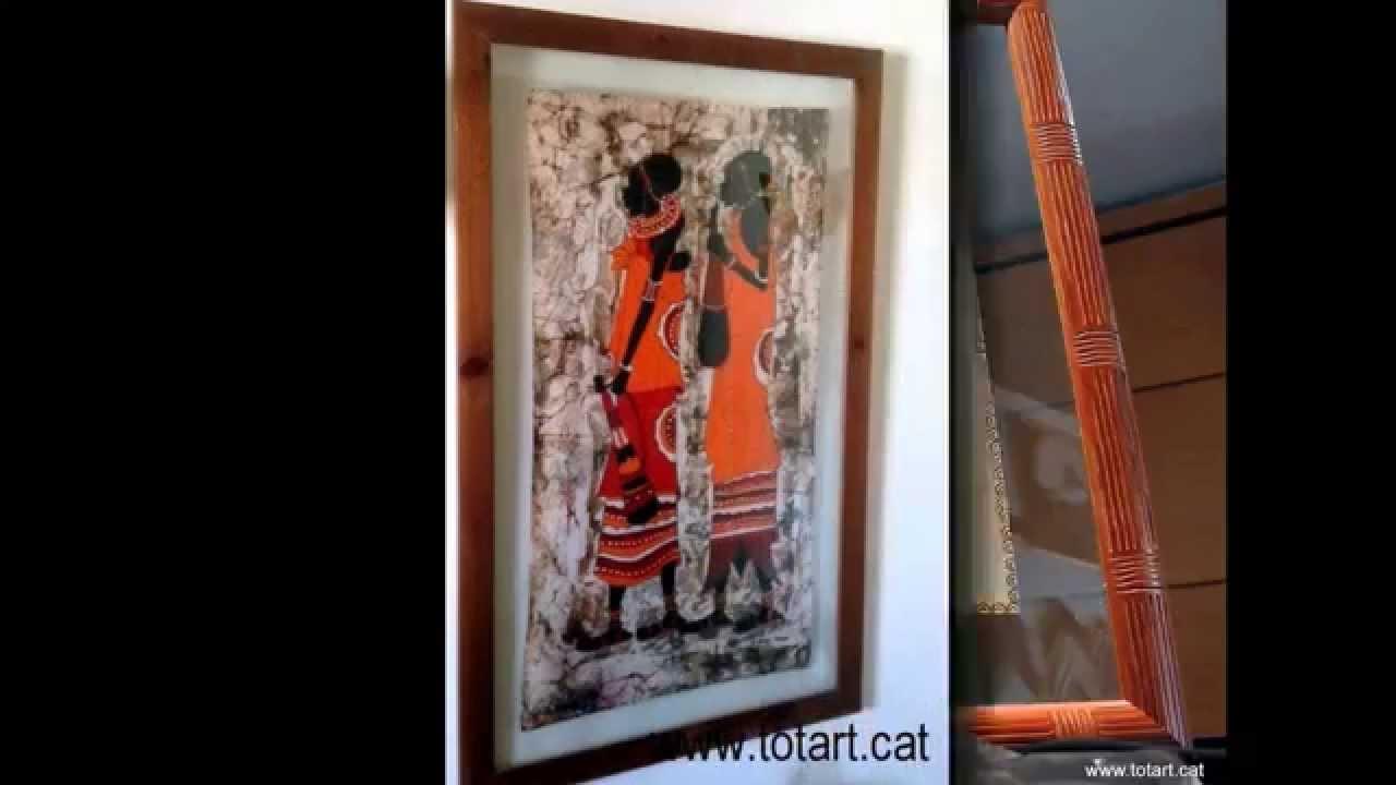 Cuadros de Papiros Egipcios Marcos y molduras de doble cristal - YouTube