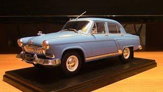 Легендарные Советские автомобили Волга ГАЗ 21 масштаб 1 24