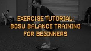 BOSU Balance Training for Beginners