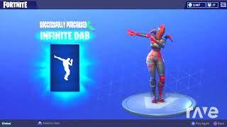 Bass Boosted Emote And Infinite Dab Emote! Fortnite Battle Royale - Hak & Sinx6 | RaveDJ
