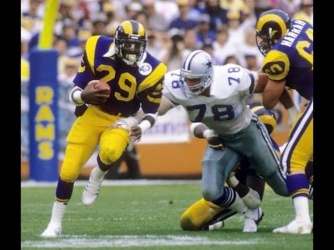 Eric Dickerson, Greg James talk rookie year at rams