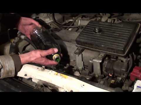 Замена антифриза Nissan Serena C24