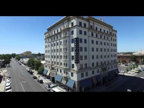 Downtown Bakersfield Drone