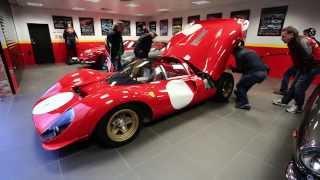 Talacrest - Listen to the Ferrari 330 P4 0858 Start Up...