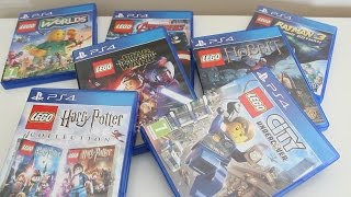 My Ps4 Lego Game Collection