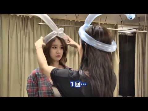 T-ARA - Jiyeon-ah, do not mess with Hyomin